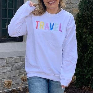 Tops - TRAVEL Sweatshirt